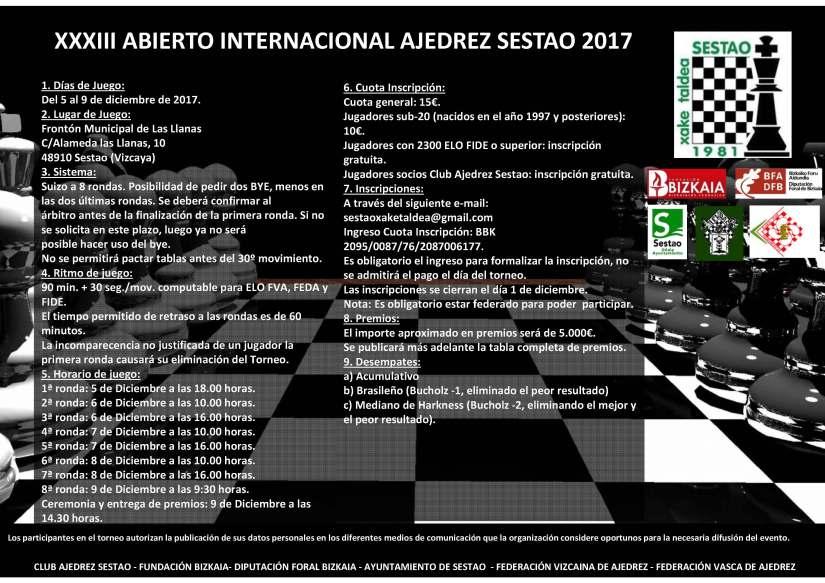 XXXIII Open Sestao